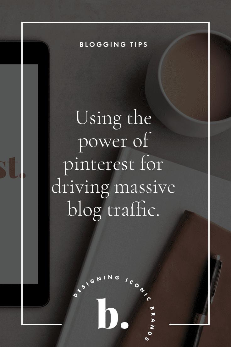 using pinterest for getting massive blog traffic