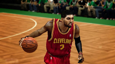 2K Kyrie Irving Face Update