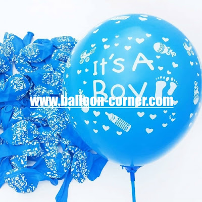 Balon Latex Printing It's A Boy