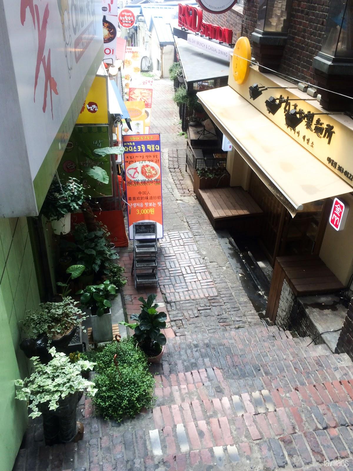 Seoul, Korea - Summer Study Abroad 2014 - Edae Food Alley