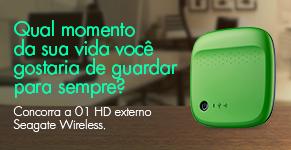 Concurso Cultural Globo.com - Concorra a um HD Externo da Seagate.
