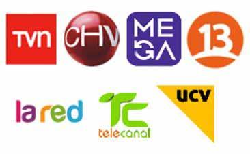 4 LISTAS CON CANALES DE TV CHILE, ESPAÑA, PELICULAS Y LATINOS