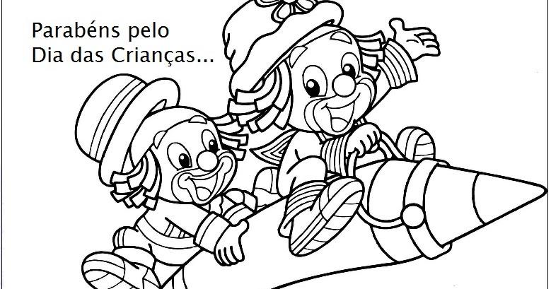 Desenhos Para Colorir Dia Das Criancas