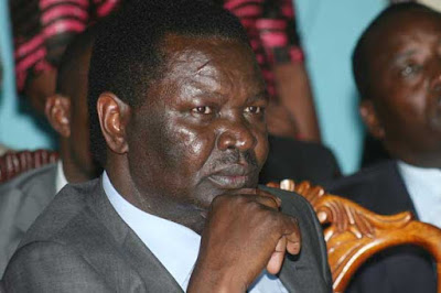 Francis Nyenze dies in Nairobi. PHOTO | FILE