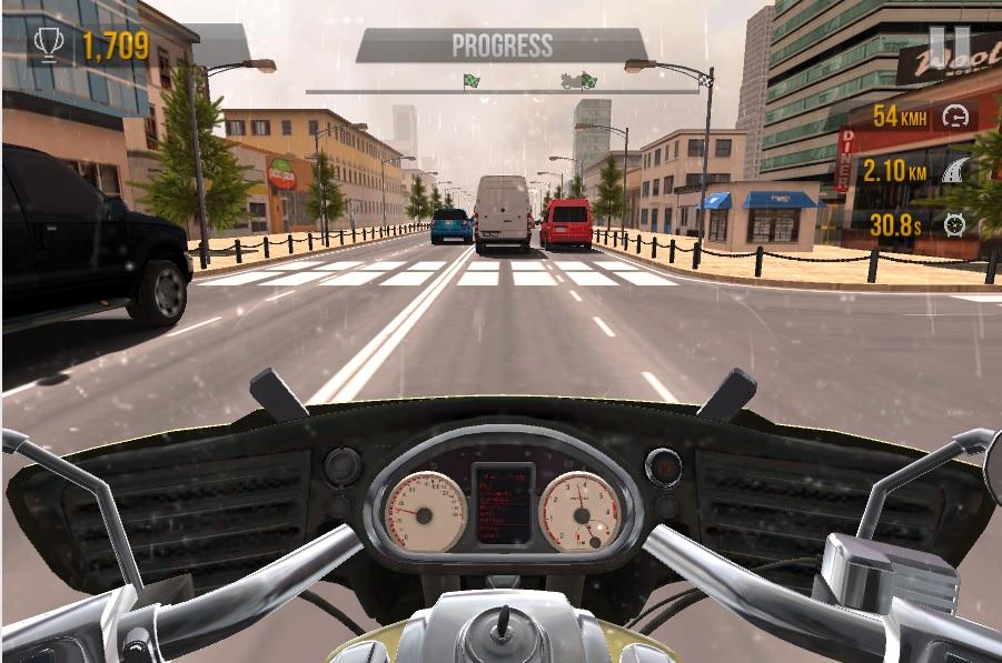لعبة سباق الدراجات التوربو Turbo Moto Racer