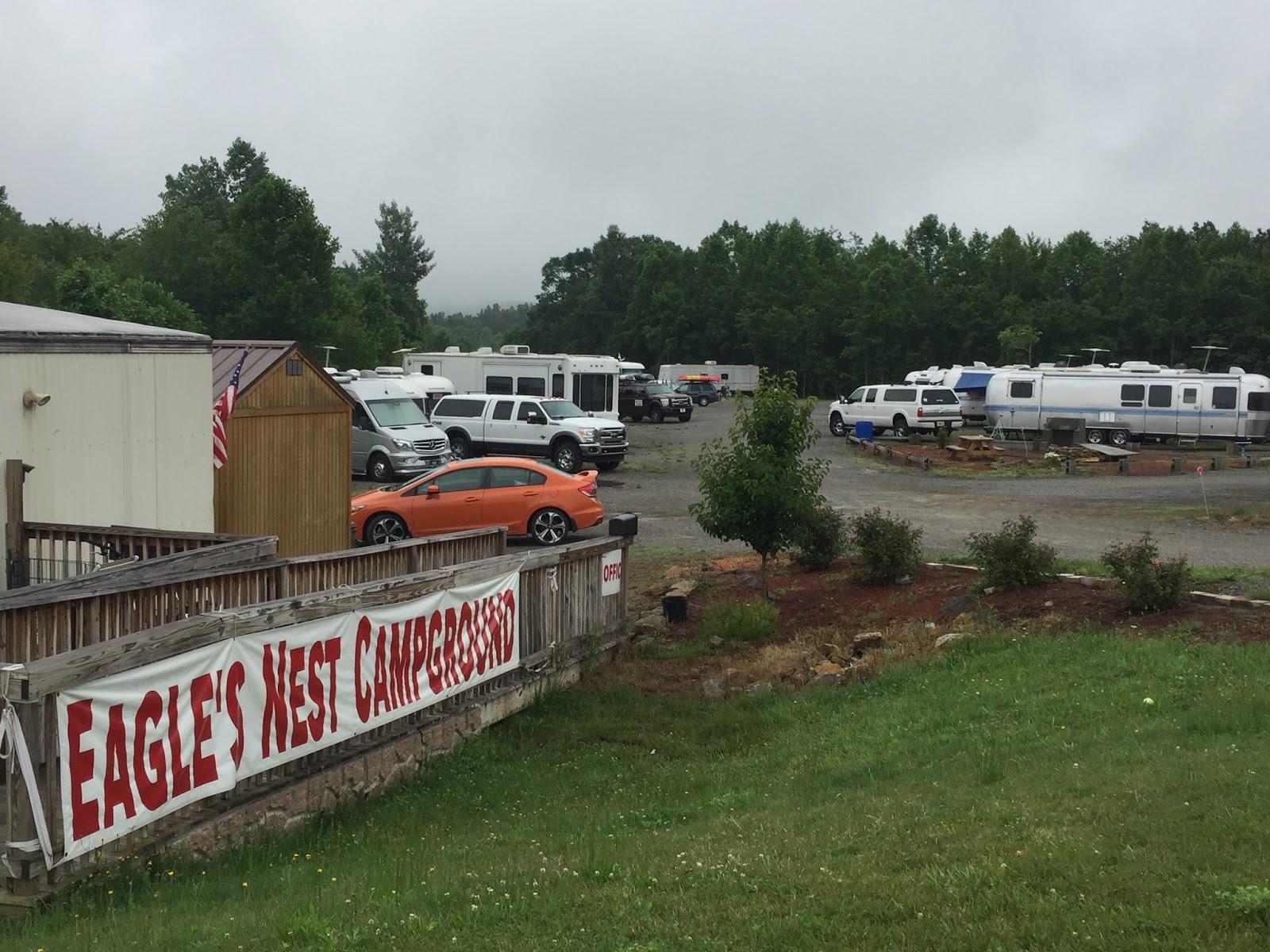 Cozy Rosie: Eagle's Nest Campground - Glen Jean, West Virginia