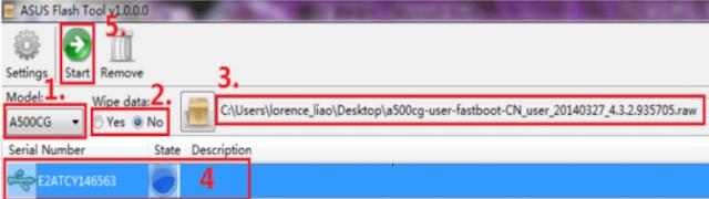 flash ulang hp asus zenfone 5 via flash tools