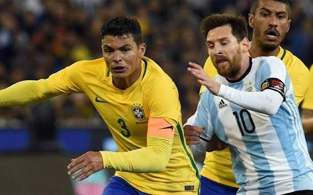 Brasil perde para Argentina e chega a cinco jogos sem vitória