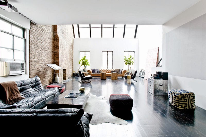 decoration, apartment, home, house, leather interior, leather sofa, coffee table, modern style, new York,labodesignstudio.com