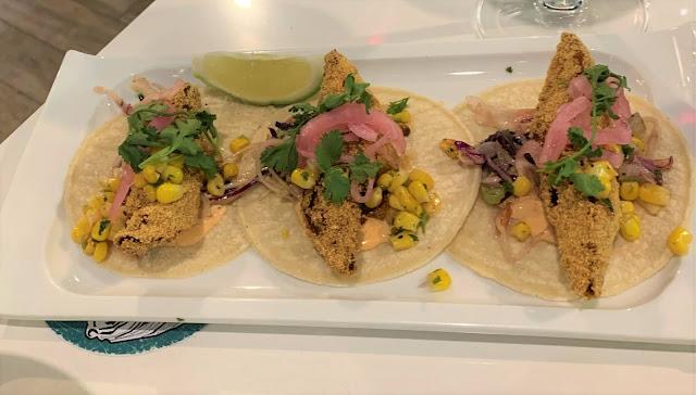 Seafood Tacos $12/trio