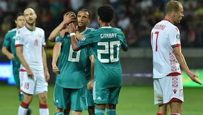 مشاهدة مباراة ألمانيا وروسيا البيضاء بث مباشر اليوم 16-11-2019 في تصفيات اليورو 2020