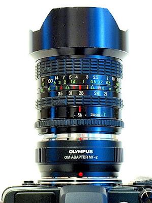 Sigma Zoom-Gamma 21-35mm F3.5~4, Top
