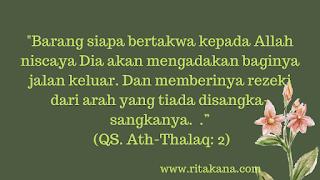 Ath Thalaq ayat 2