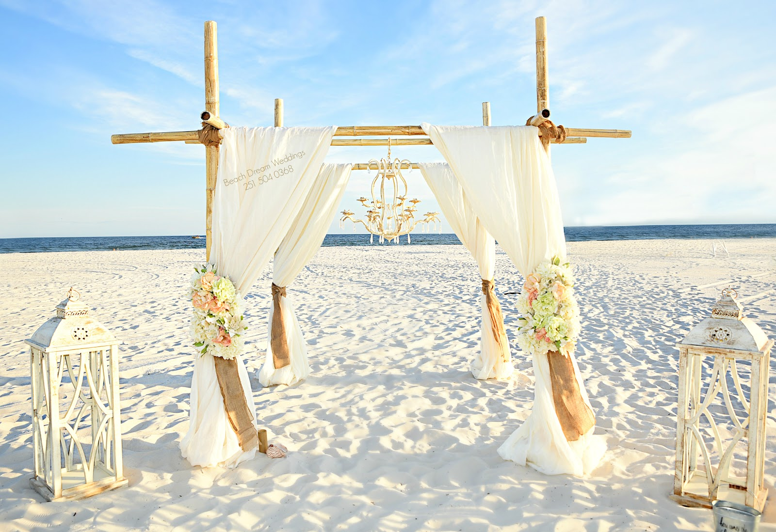 Beach Dream Weddings, LLC - 251.504.0368: Shabby Chic Beach Dream ...