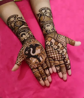 Beautiful_Elephant_with_peacock_henna_design_for_Eid_in_2020