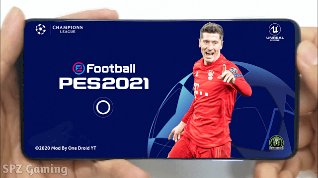 PES 2021 Mobile Patch UCL Latest Update Android Best Graphics New Menu Original Logo and Kits 20/21