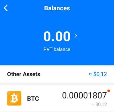 Cara mendapatkan Bitcoin (BTC) dari aplikasi Pivot Dengan Mudah