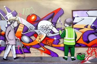 "Street Art : Julien ""Seth"" Malland, le globe-painter"