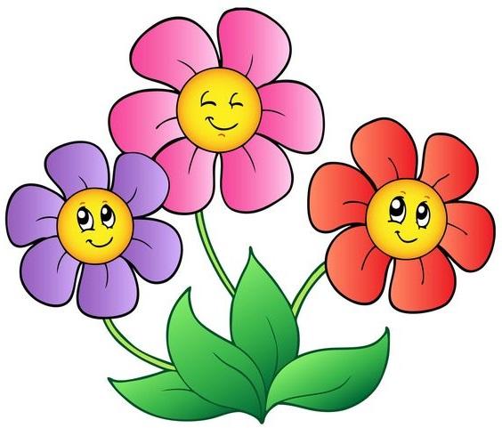 Gambar Bunga Kartun Terbaik Server Gambar