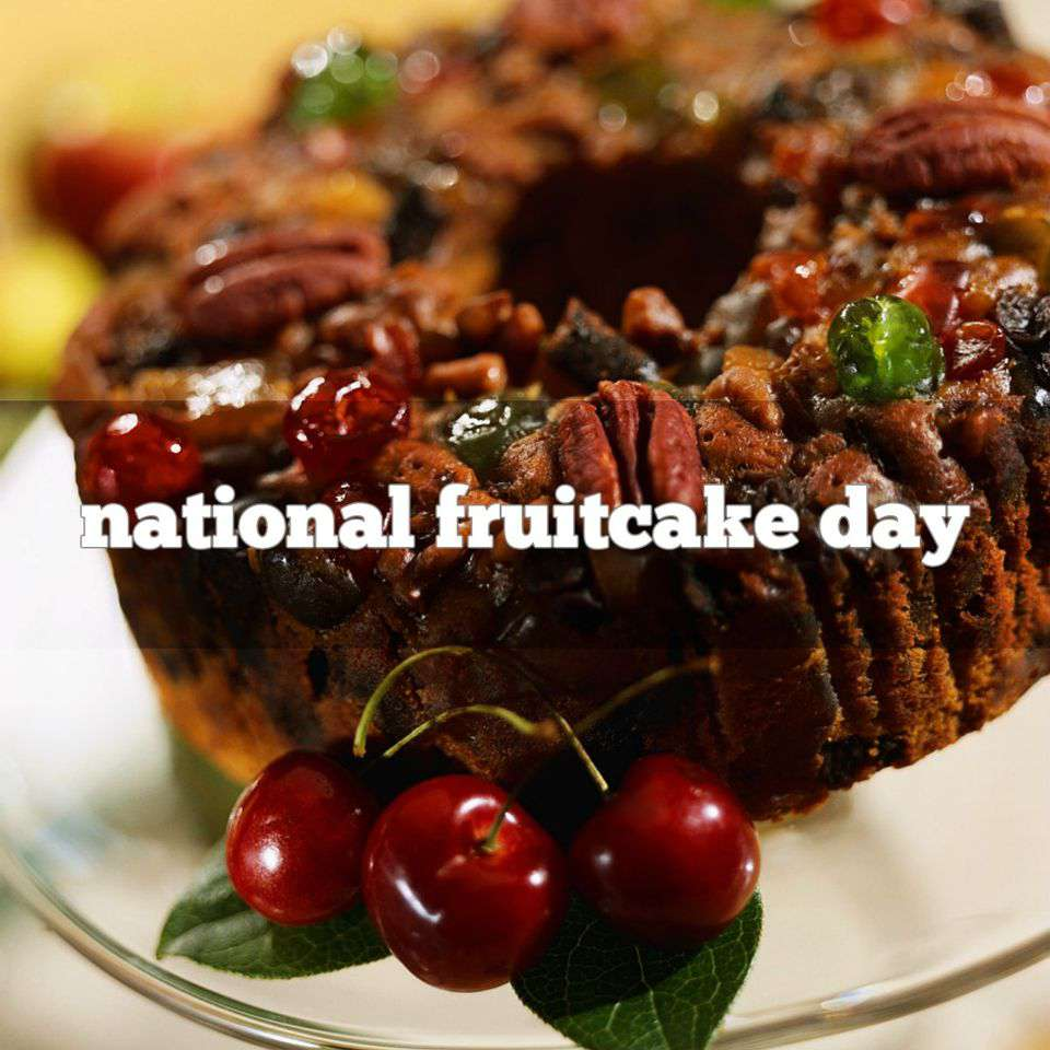 National Fruitcake Day Wishes Beautiful Image