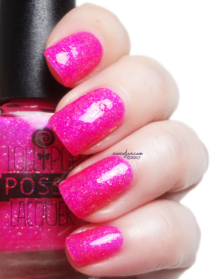 xoxoJen's swatch of Lollipop Posse - Cotton Candy Chaos