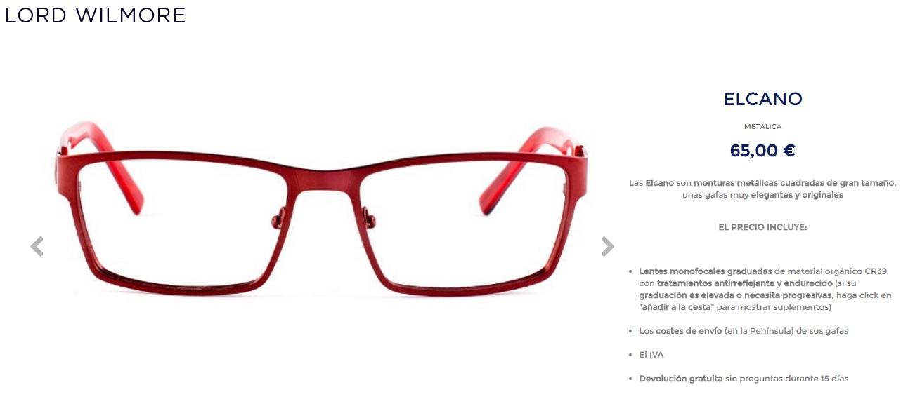 a1a97f6688 yo y mis circunstancias: lord wilmore gafas graduadas low cost on ...