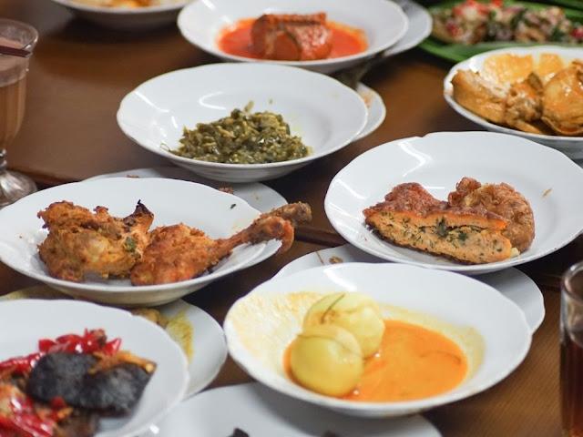 The Famous Padang Cuisine