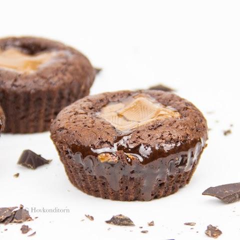 Caramel Chocolate Muffins