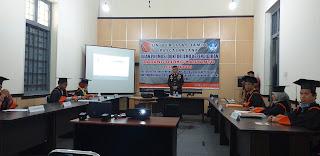 AKBP Dadang Djoko Karyanto Ikuti Ujian Promosi  Doktor Ilmu Kependidikan