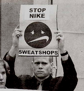 The controversial issue of sweatshops and child labor in the underdeveloped countries