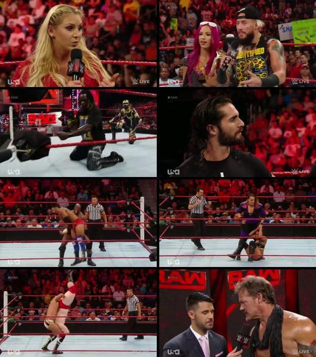 WWE Monday Night Raw 01 August 2016 HDTV 480p