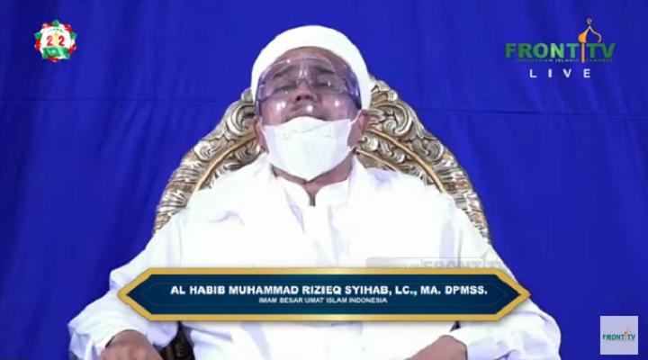 Habib Rizieq Apologizes to the Community