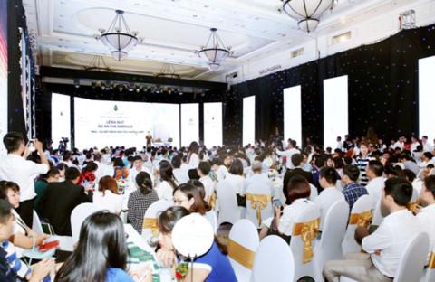 Các buổi lễ mở bán và ra mắt sản phẩm của Vimefulland luôn chật cứng khách hàng tham dự