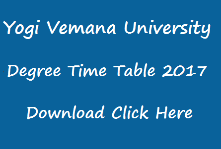 yvu degree exam time table 2017 manabadi