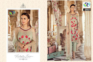 R9 Designer Aliza Georgette pakistani Suits wholesaler