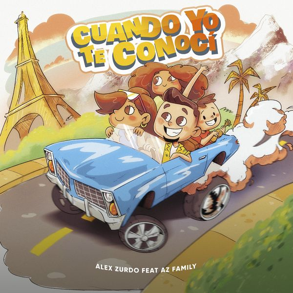 Alex Zurdo – Cuando Yo Te Conocí (Feat.AZ Family) (Single) 2021 (Exclusivo WC)