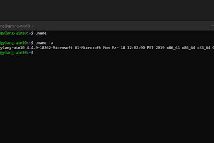 Cara Mudah Akses Folder WSL di Windows 10
