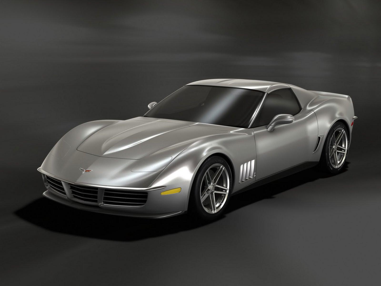 Westancebywestcoast: Concept Car Corvette C3 LOOK