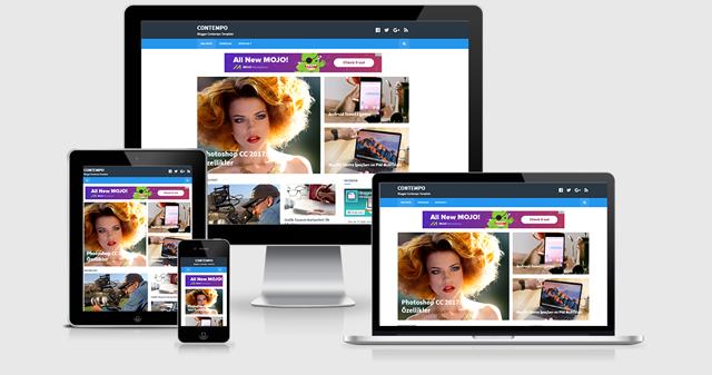 Blogger CONTEMPO Teması
