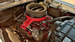 1969 Oldsmobile Cutlass Hurst Olds Engine 01