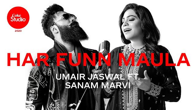 Har Funn Maula Lyrics - Umair Jaswal ft Sanam Marvi