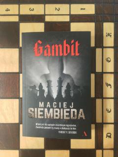 """nieodłączne szachy, """"Gambit"""" Maciej Siembieda, fot. paratexterka ©"""