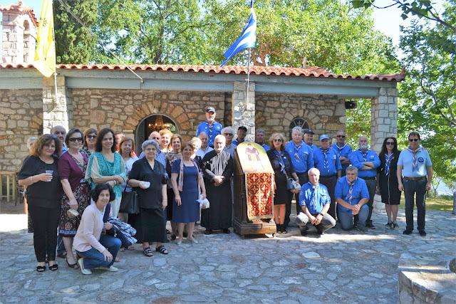 Αργολίδα: Οι Παλαιοί Πρόσκοποι του Άργους τίμησαν τον Άγιο Παΐσιο