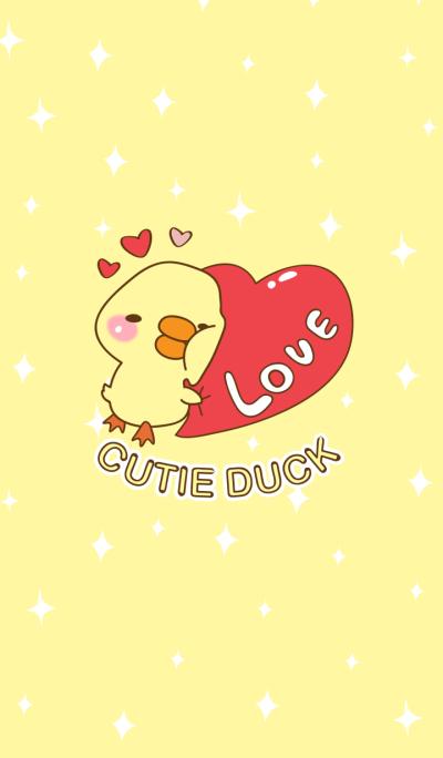 Cutie duck