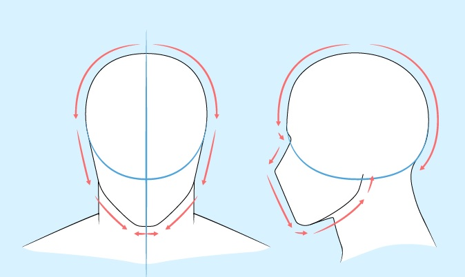 Gambar kepala pria anime