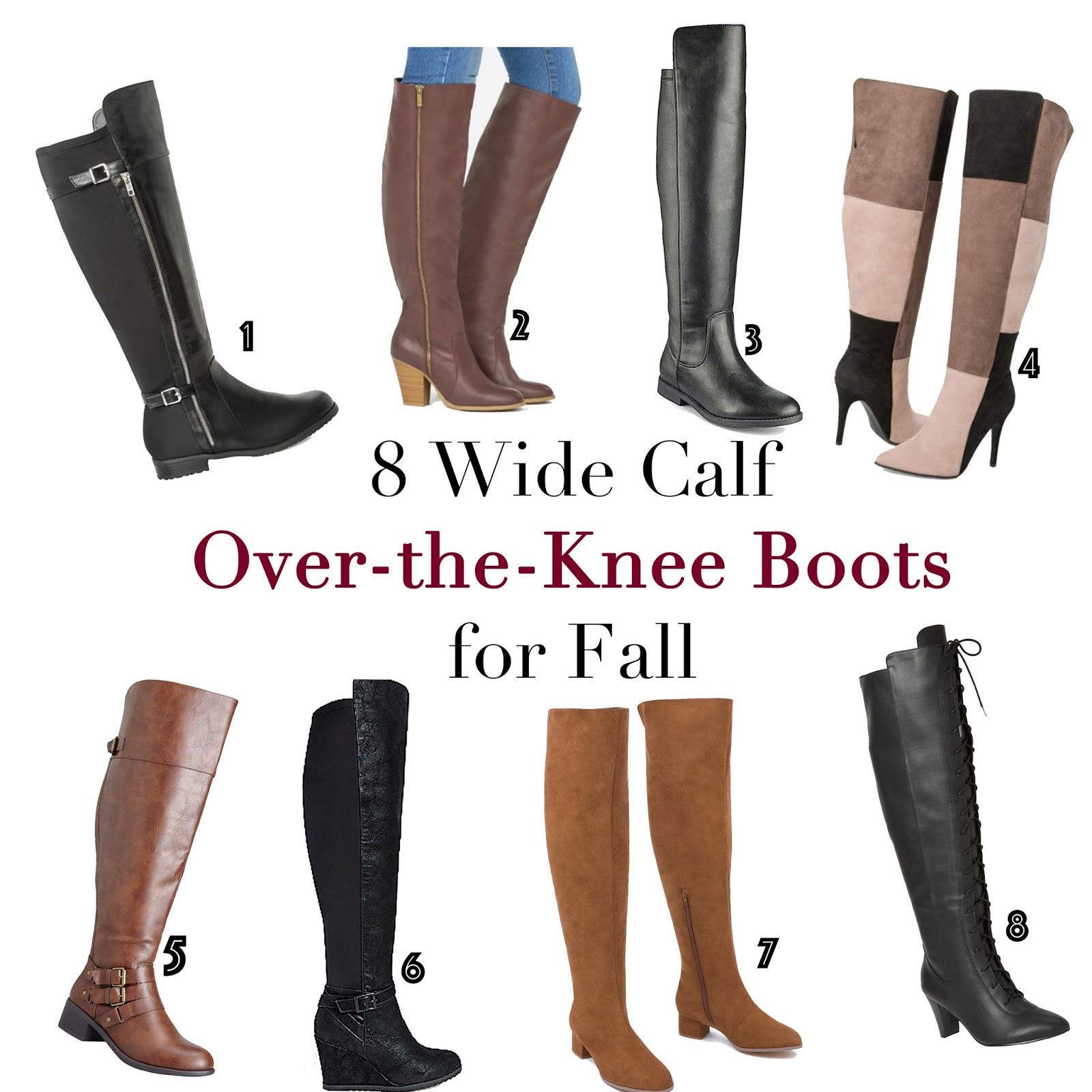 GarnerStyle | The Curvy Girl Guide: 8 Wide Calf Over-the-Knee Boot ...