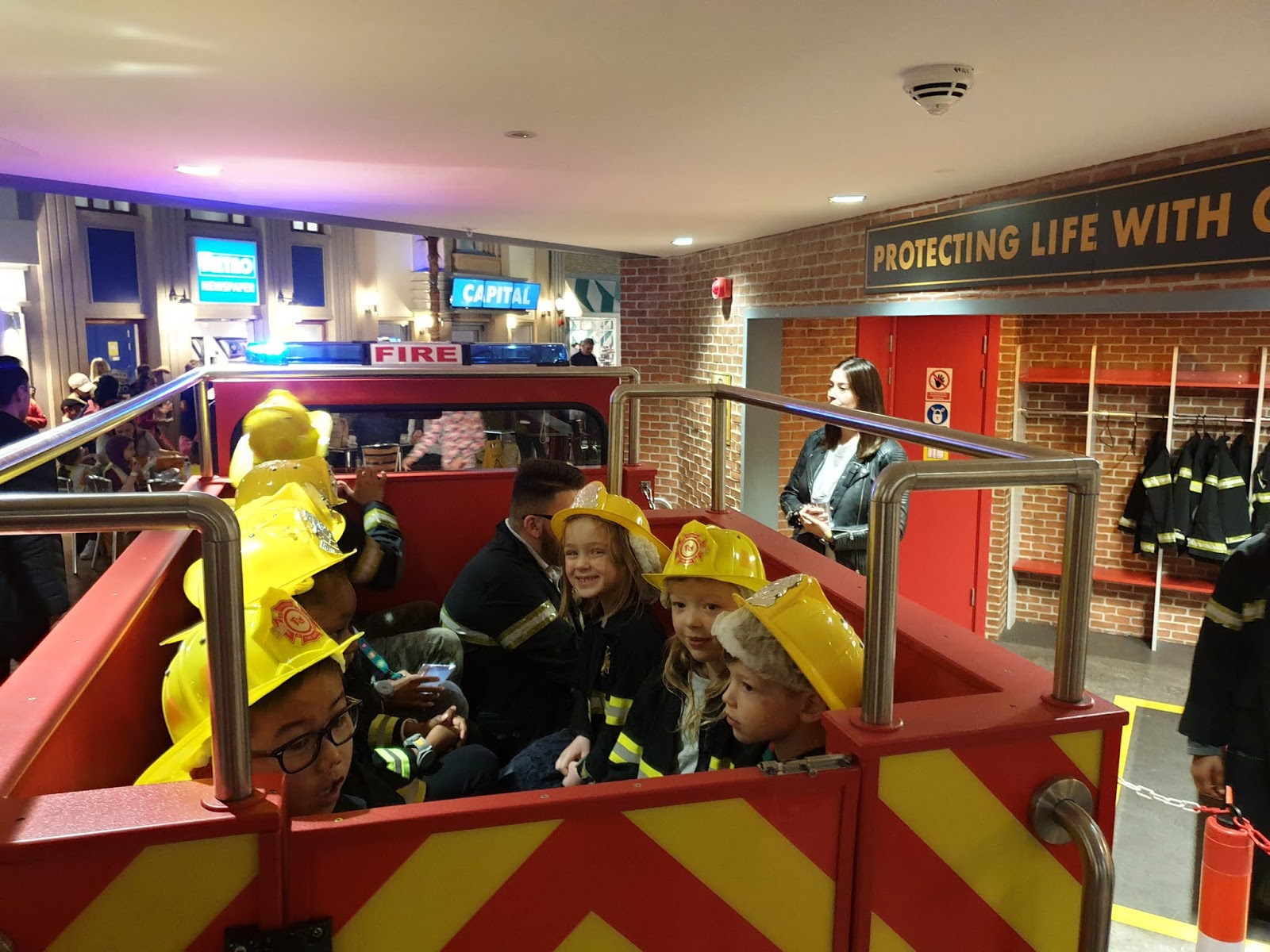 kidzania firetruckkidzania firefighting activity