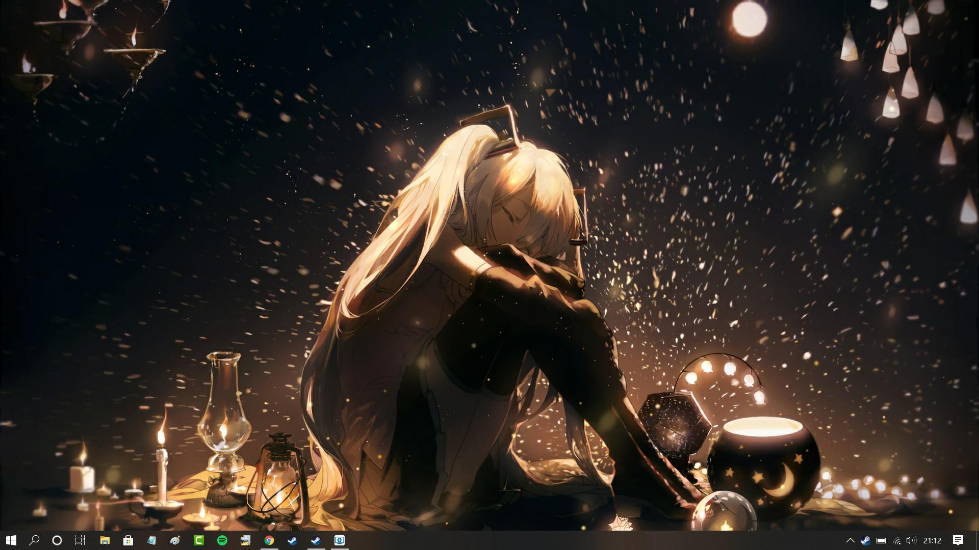 Hatsune Miku Vocaloid Live Wallpaper