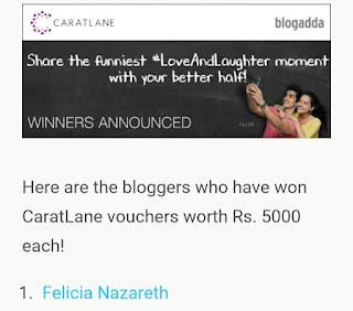 http://blog.blogadda.com/2016/02/26/winner-announcement-caratlane-loveandlaughter-activity
