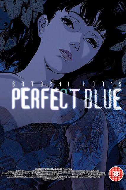 Cartel de le película de animación Perfect Blue
